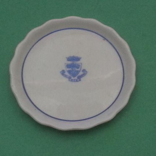Hotel Ritz Mardrid Coin Plate Porcelain