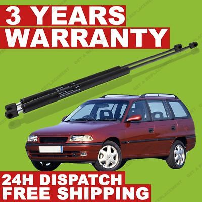 Pair of Tailgate Gas Struts fits Vauxhall Astra F Estate 1991-1998