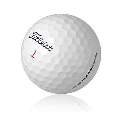 24 Mint Titleist Pro V1X 2016 Used Golf Balls AAAAA + Tees