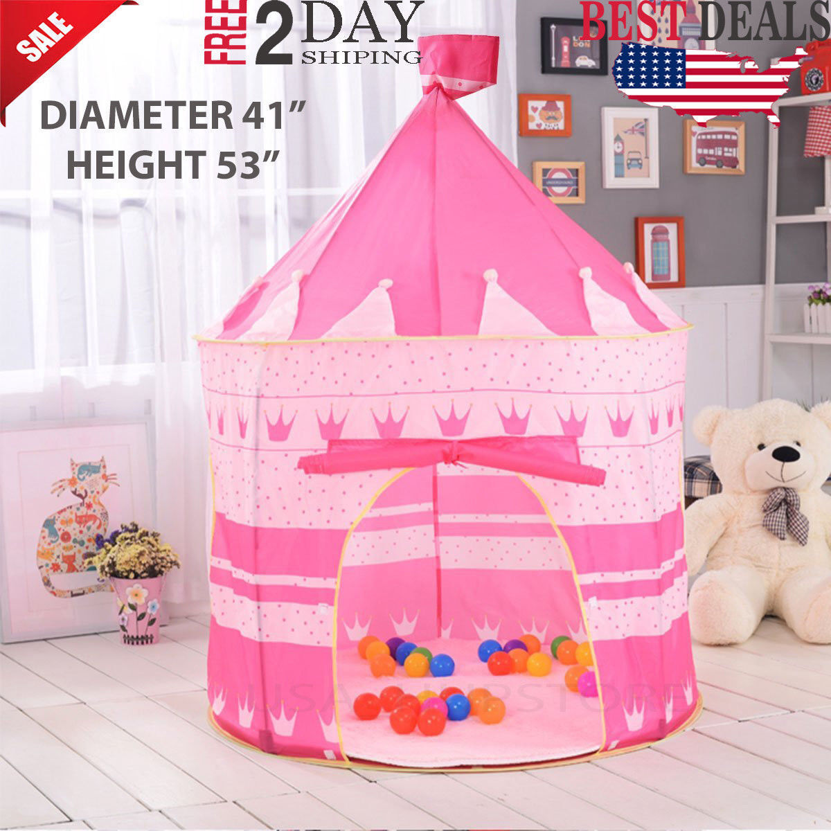 Baby Girl Toys Play Tent Kids Toddlers For Age 2 3 4 5 6 Out