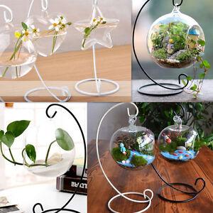 support de vase crochet suspendu bouteille pour plante bougie jardin d coration ebay. Black Bedroom Furniture Sets. Home Design Ideas