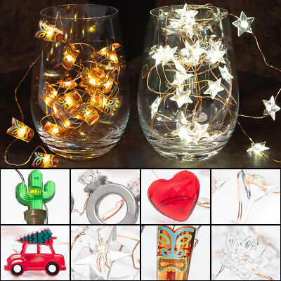 25 LED Battery Operated String Lights Party Supplies Indoor Outdoor Home Décor