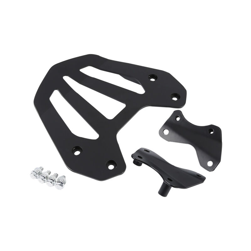New 2013-2014 Honda GL1800 Goldwing F6B Motorcycle Rear Carrier with Mount Black