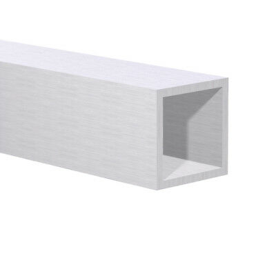 Aluminum Square Tube 1 Od 4 Foot Mill Finish