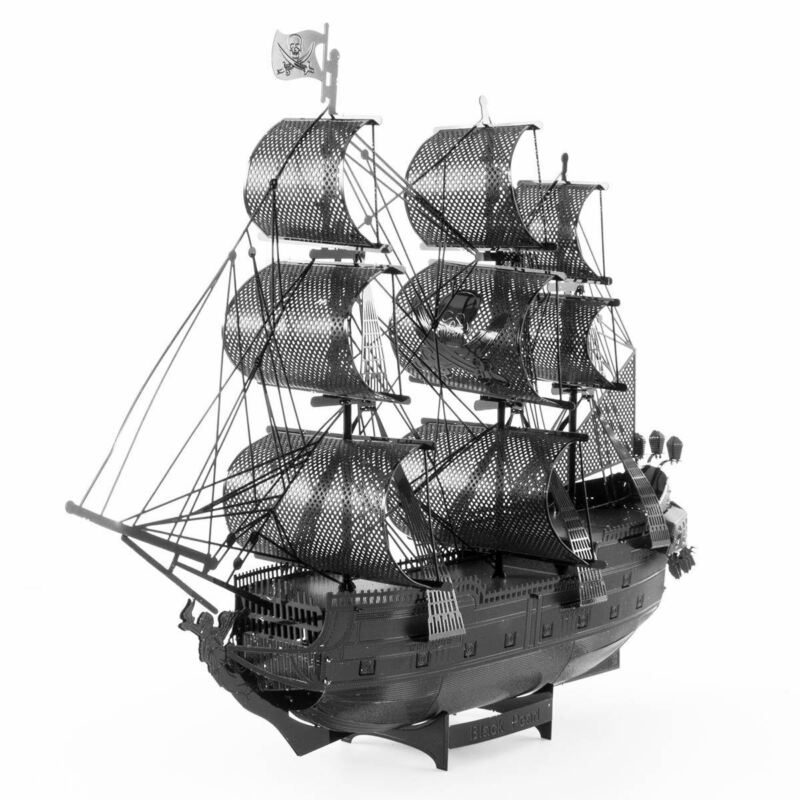 [3DMakerWorld] Metal Earth Premium Series Black Pearl Model Kit (Black Metal)