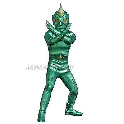 X-PLUS SHONEN RICK Limited Metallic Green Ver. Fighting pose MIRRORMAN