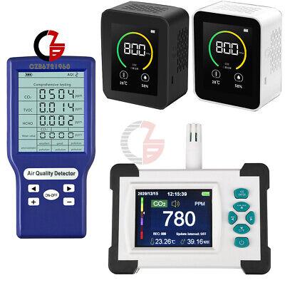 Co2 Detector Carbon Dioxide Sensor Monitor Gas Concentration Content Air Tester