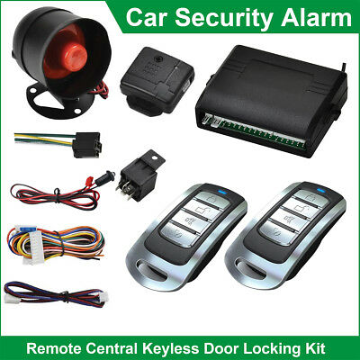 Universal Car Alarm Security System Anti-theft Auto Remote Central Locking Kit