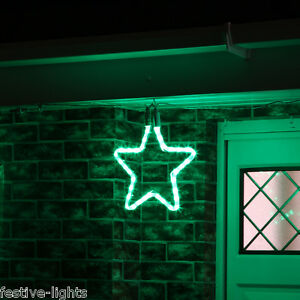 LED-STAR-ROPE-LIGHT-OUTDOOR-GARDEN-CONNECTABLE-CHRISTMAS-SILHOUETTE-DECORATION