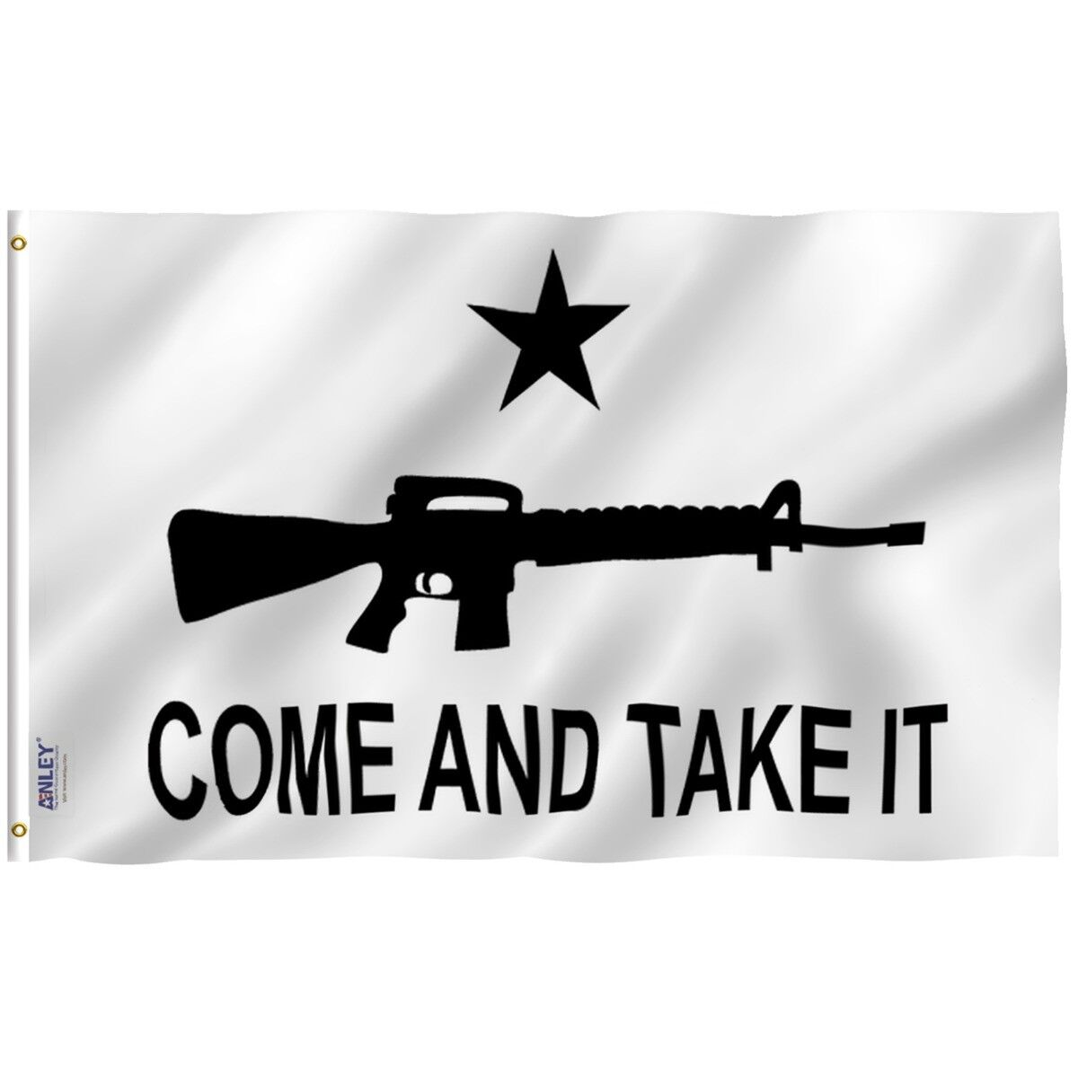 Anley Fly Breeze 3x5 Foot M-4 Gonzales Come and Take It Flag