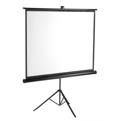 "100"" 4:3 Projector Screen Portable Indoor Outdoor Movies Pro"
