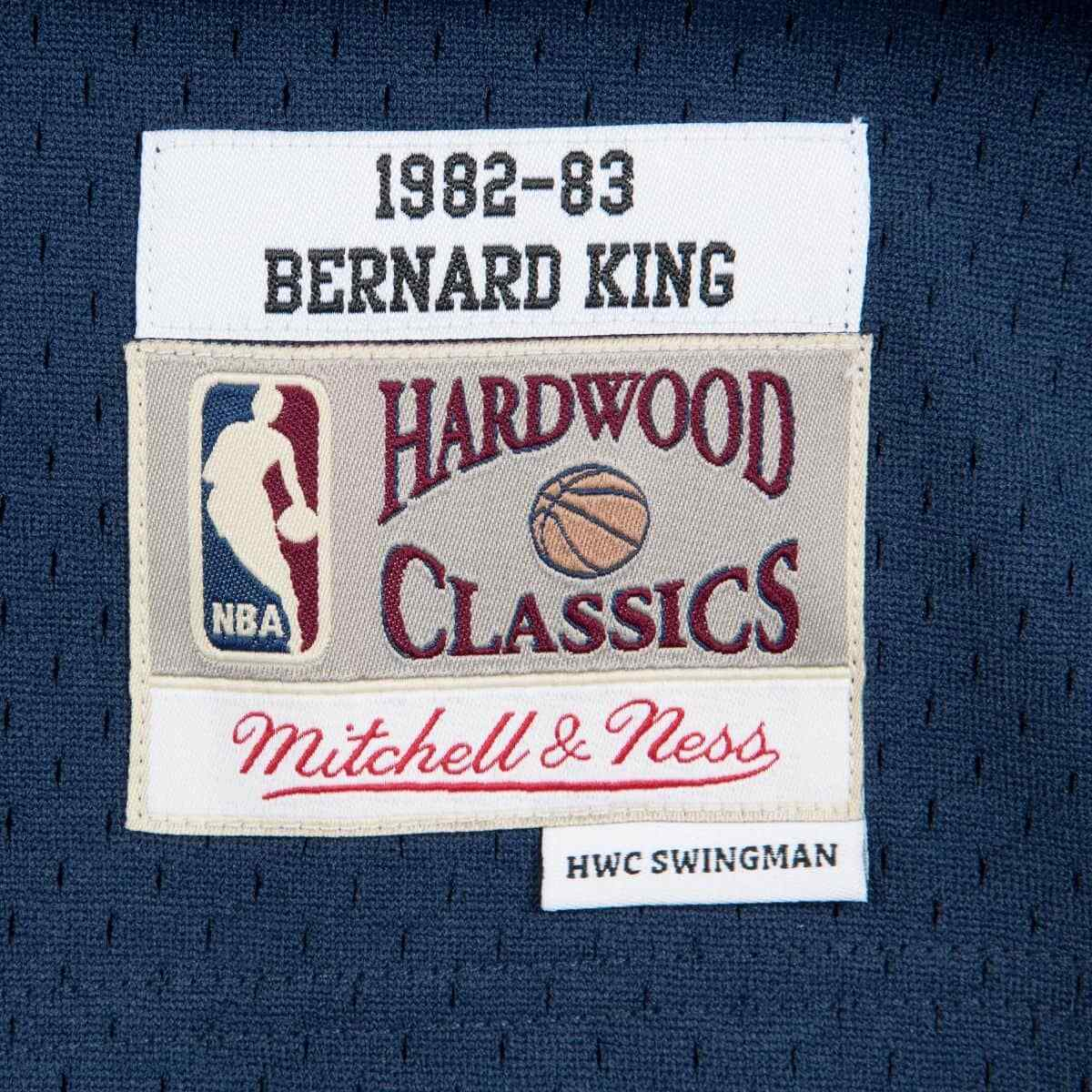 2ab058e81 Mitchell & Ness New York Knicks 1982-83 #30 Bernard King Swingman Navy  Jersey. ** FREE DELIVERY ON THIS JERSEY **