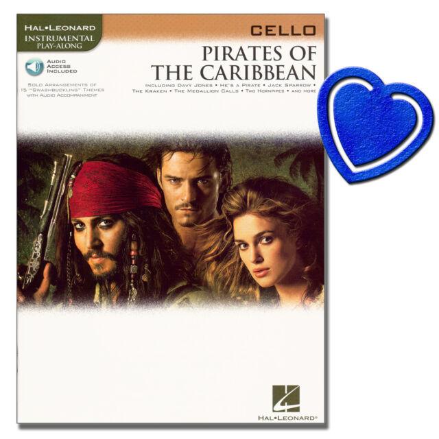 Pirates of the Caribbean - Cello Noten - HL00842192 - 9781423422044