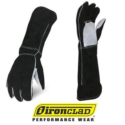 Ironclad Stick Welder Premium Elkskin Leather Welding Gloves - Select Size