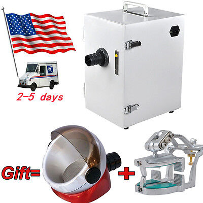 Usa Dental Single-row Dust Collector Vacuum Cleaner Articulator Suction Base