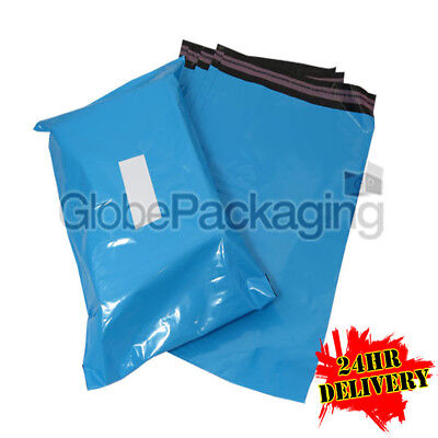 100 x Baby Blue STRONG Postal Mailing Bags - 13 x 19