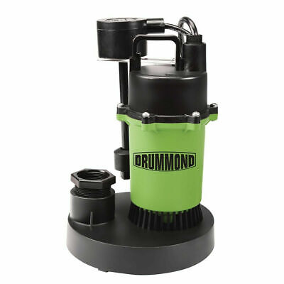 Pump Water 13 Hp Submersible Sump Pump With Vertical Float 3400 Gph