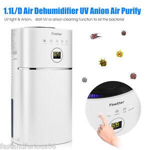 2.4L Portable Air Dehumidifier Dryer Damp Mould Moisture Home Kitchen Bedroom