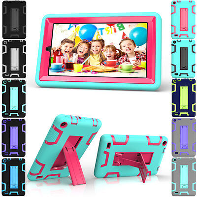 Shockproof Rugged Hard Stand Cover For Amazon Kindle Fire 7' 5th Gen Tablet Case