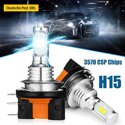 H15 LED Nebel Scheinwerfer Kit 2x Auto CSP 6000k Xenon Weiß Lampe Licht VS Xenon