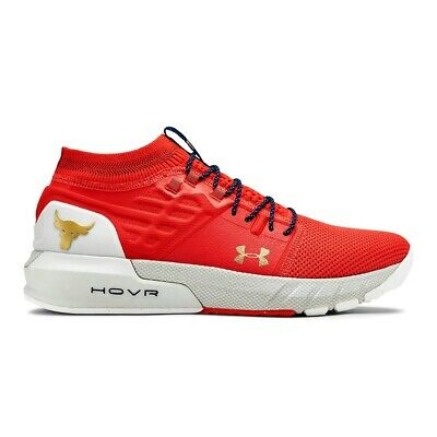 Under Armour Sneakers UA Project Rock 2 Men Training Shoes Blood Orange 3022024