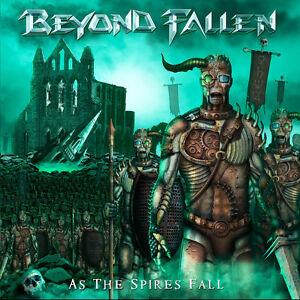 BEYOND FALLEN - As the Spires fall (NEW*US POWER METAL KILLER*M.CHURCH*HELSTAR)