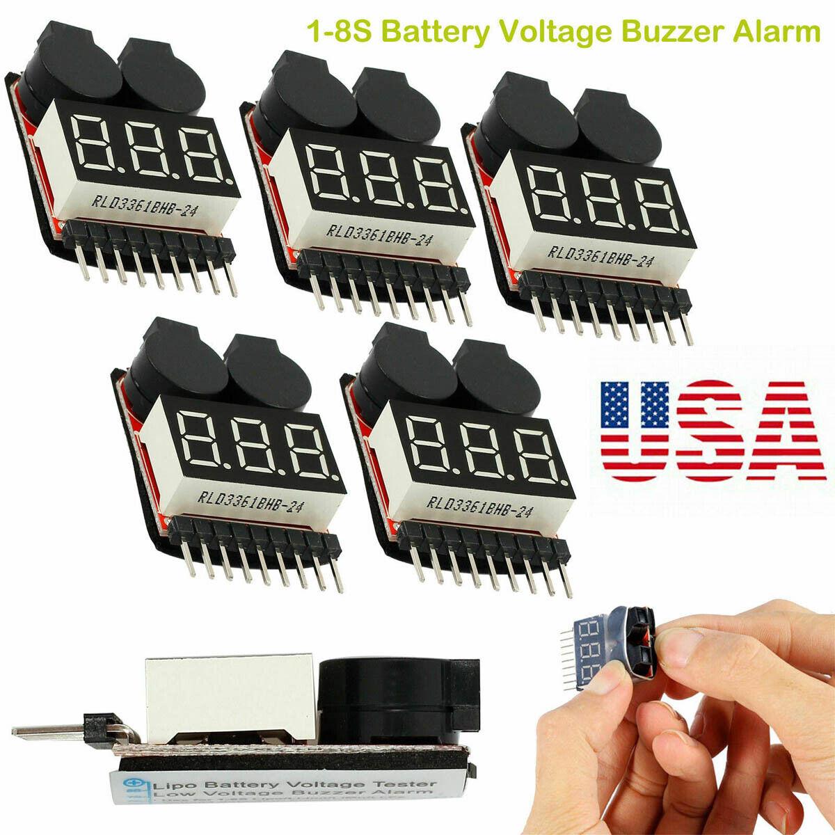 5pcs low voltage battery alarm buzzer 1