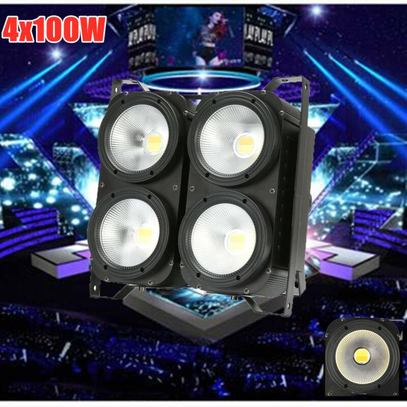 400W COB LED Stage Par Light DMX Audience Light Anti Glare Cool/Warm White USA
