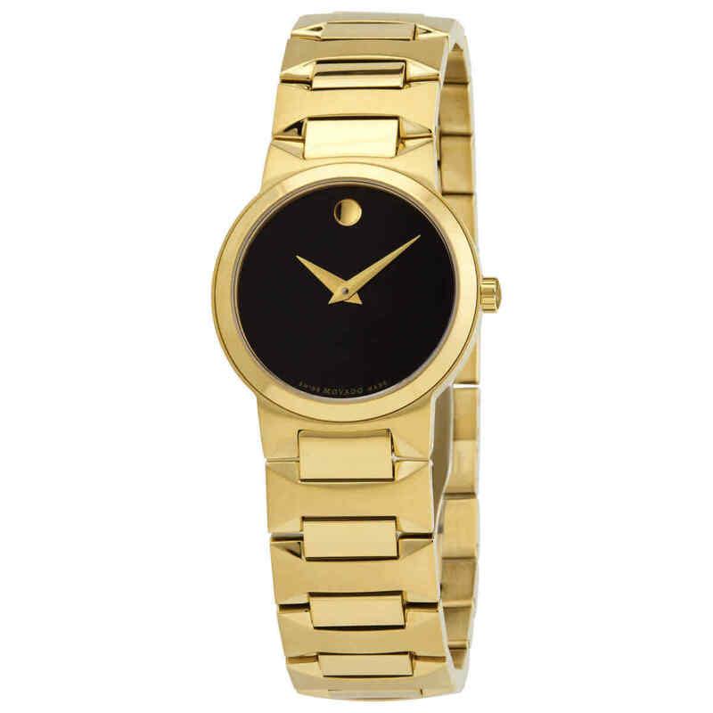 Movado-Temo-Quartz-Black-Dial-Ladies-Watch-0607297