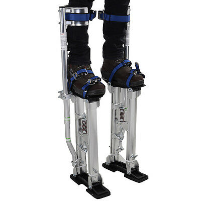 Silver 24-40 Inch Drywall Stilts Aluminum Tool Stilt For Painting Painter Taping