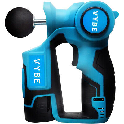 VYBE Personal Percussion Massage Gun Handheld Deep Muscle Massager by Exerscribe