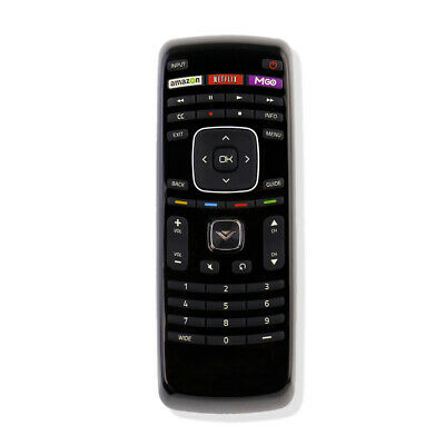 XRT112 Internet Smart TV Remote Control With M-GO Netflix Amazon Key for Vizio