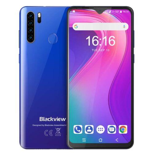 "4G Smartphone Blackview A80 Pro 2020 6.49"" 4GB+64GB 4680mAh Handy Face ID Blau"