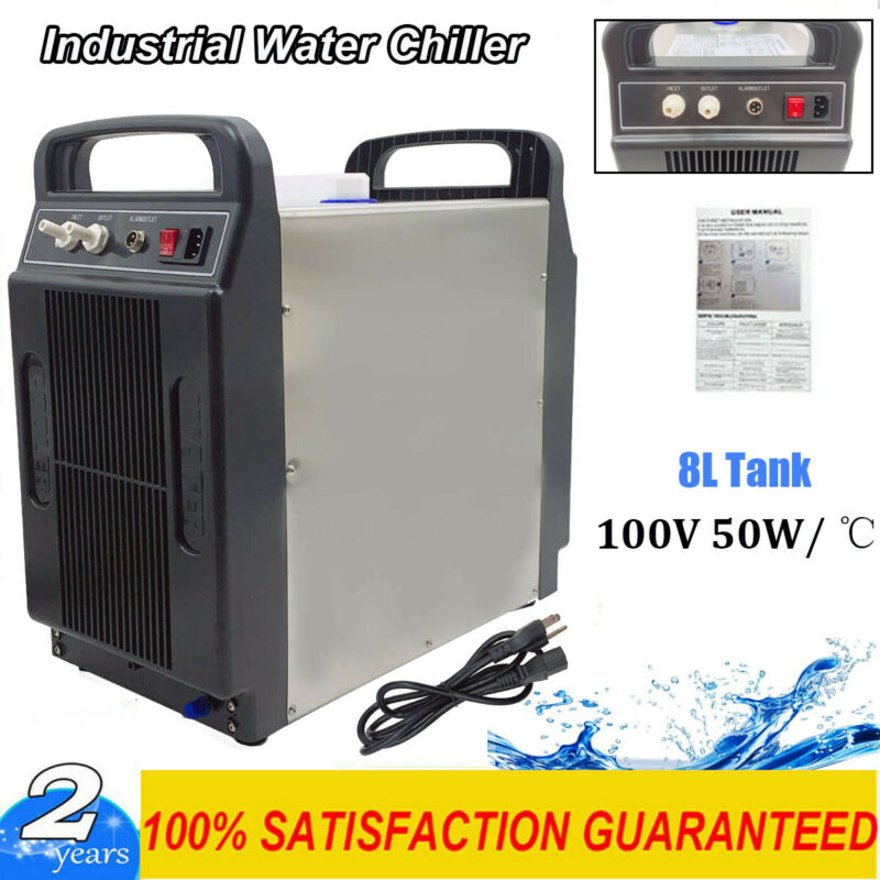 110V CW-3000 Thermolysis Industrial Water Chiller for CNC/ Laser Engraver Cutter