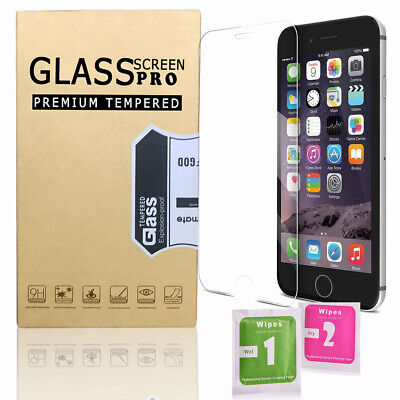 Phone Screen Protector Best Tempered Glass Protection for iPhone X 8 7 6 6s