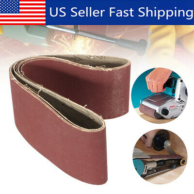 5pcs 4x18 800 Grit Grinding Polishing Aluminum Oxide Abrasive Sanding Belts