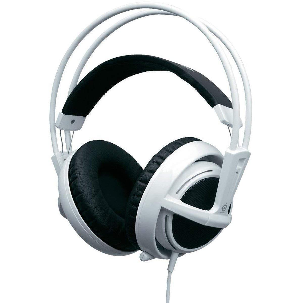 Купить SteelSeries Siberia v2 White Full-Size Gaming USB Headset (51102)
