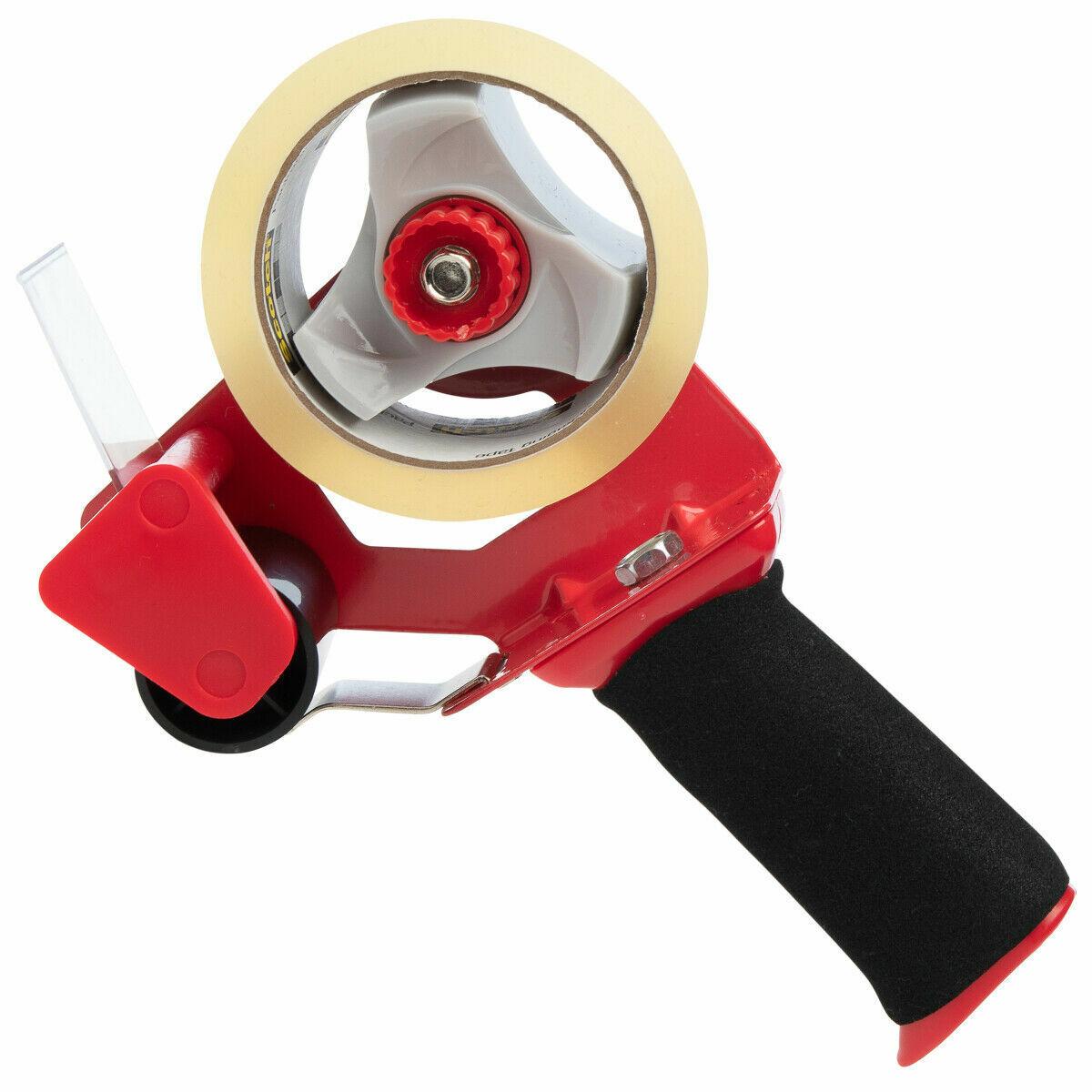 Tape Dispenser 2 Inch Tape Gun Foam Grip Heavy Duty Packagin