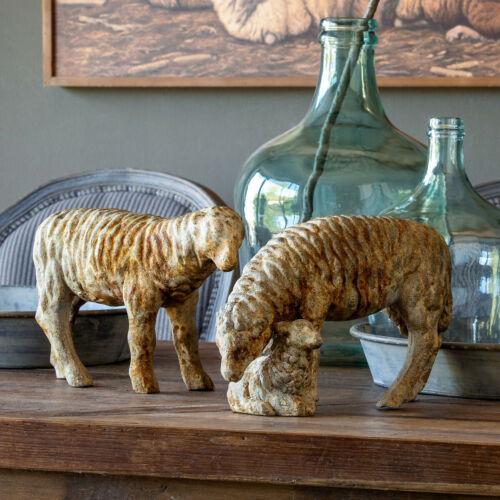 Sheep Lamb Figurine Statue Set