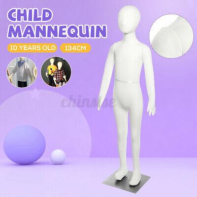 134cm Unisex Child Mannequin Full Body Foam Sponge Realist Dress Form Display