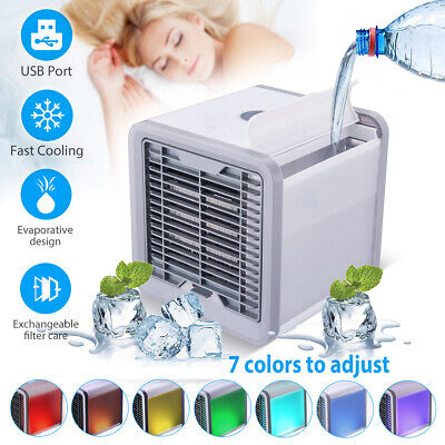 Portable USB Air Conditioner Mini Cooler Fan Cooling Humidifier Purifier -3 IN 1