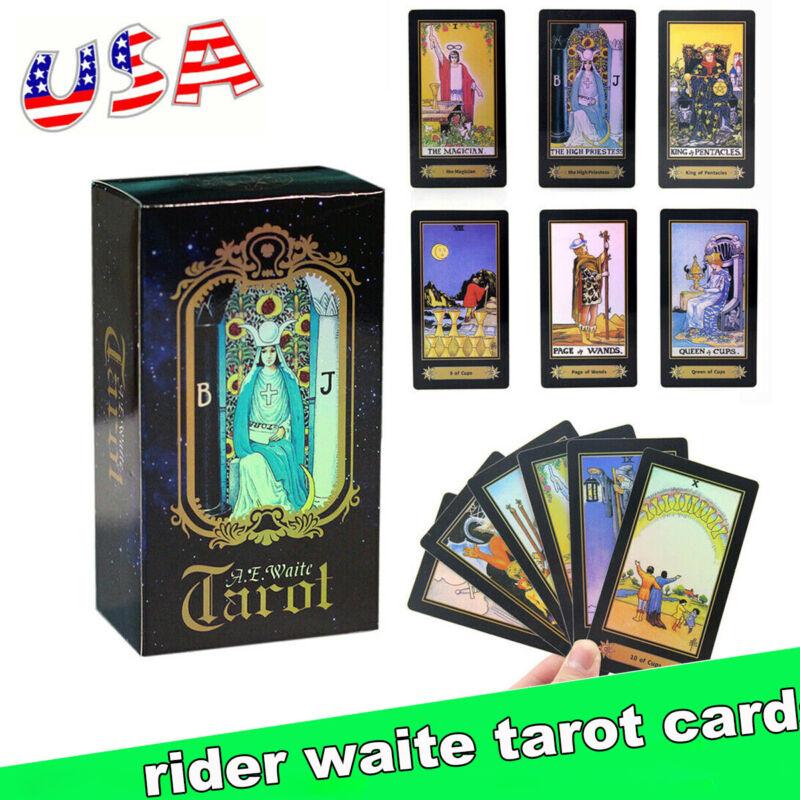 Waite Rider Tarot Deck Game 78Cards English Version Future Telling Sealed