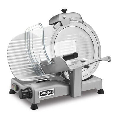 Waring Wcs300sv Commercial Food Slicer Electric Heavy Duty