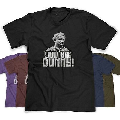 Big Dummy Funny Redd Fox Rip Sanford   Sons Retro Parody New Mens T Shirt Tee