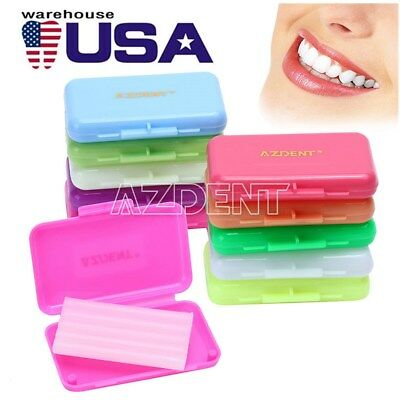 10-100x Dental Orthodontic Wax For Braces Gum Irritation 10 Kinds Of Fruit Scent
