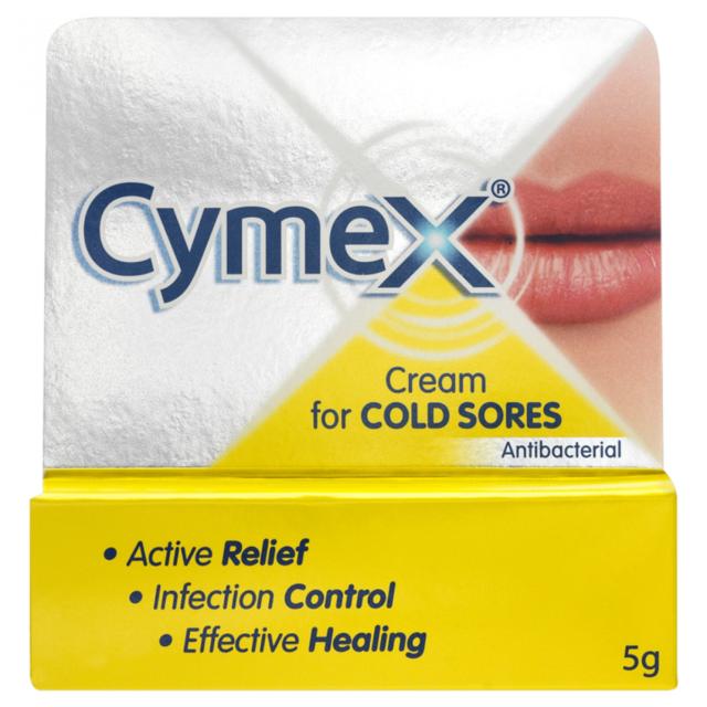 Cymex Antibacterial Cold Sores Cream 5g | **FREE POST**