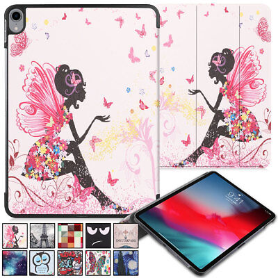 Pattern Printed Leather Flip Case Support Pencil Charging Fo