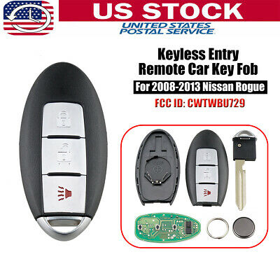 Replacement For 2008-2013 Nissan Rogue Keyless Entry Remote Key Fob (Nissan Keyless Entry Remote)