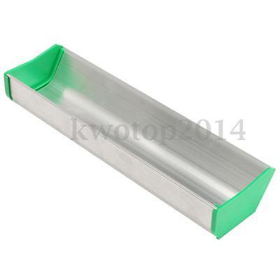 10 25cm Aluminum Emulsion Scoop Coater Silk Screen Printing Coating Tool