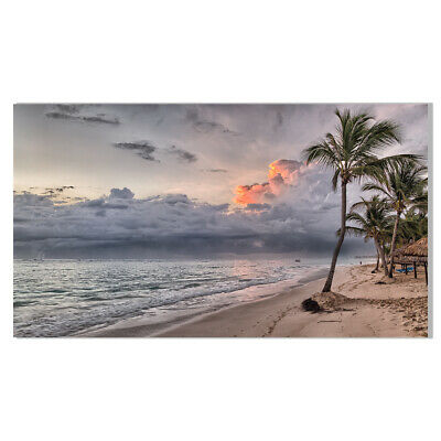 Caribbean Ocean Beach Canvas Painting Poster Picture Living Room Home Wall Decor - Caribbean Decor